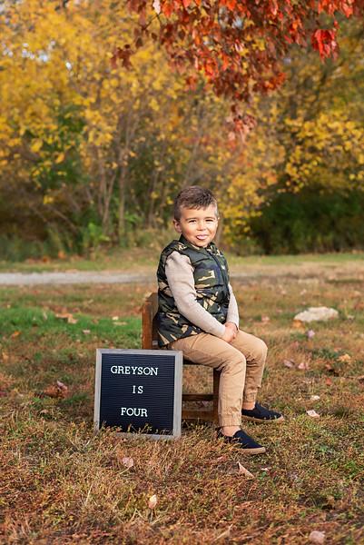 Greyson is 4