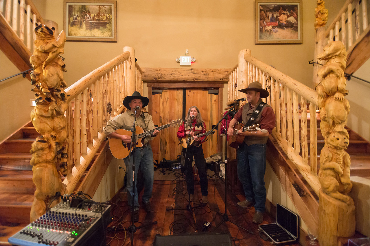 The Anvil Blasters playing at a Benefit Dinner for Jenna's Law Fundraising Event at The Lodge at Suttle Lake on November 2, 2013. Funds  raised supported the Brain Injury Alliance of Oregon -