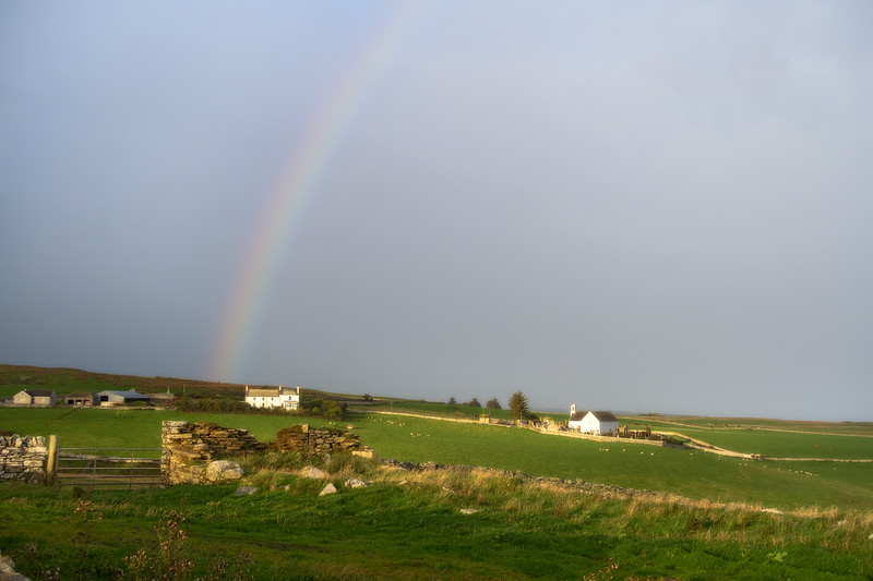 Rainbow over Latheron