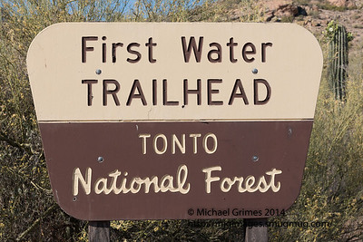 First Water Trailhead-AZ