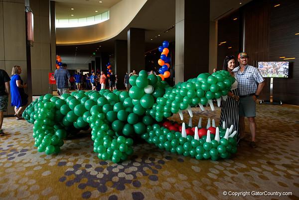 2017 Advocare Classic Florida Gators Pep Rally