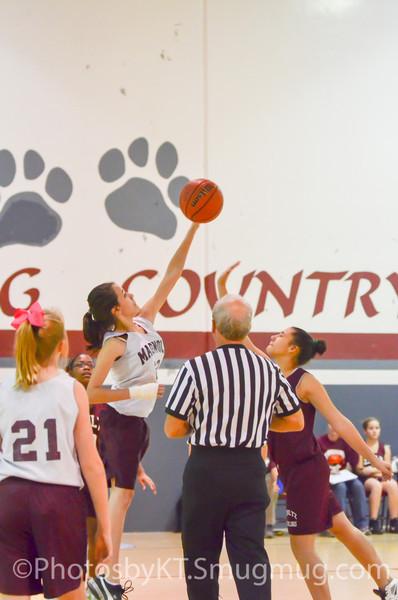 MJH7GB vs Shultz Girls Basketball