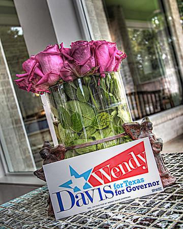 Wendy Davis/John McDowell Fundraiser