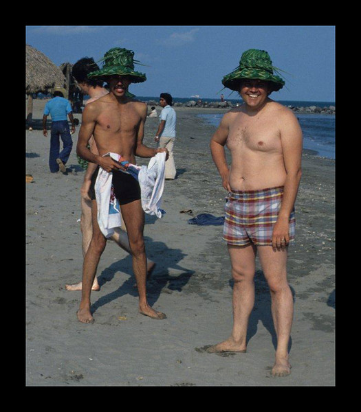 Vera Cruz Beach with Luis Martinez - Mexico - 1978.jpg