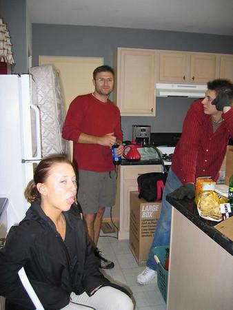 Hlavin's Moving Day - May 29, 2004