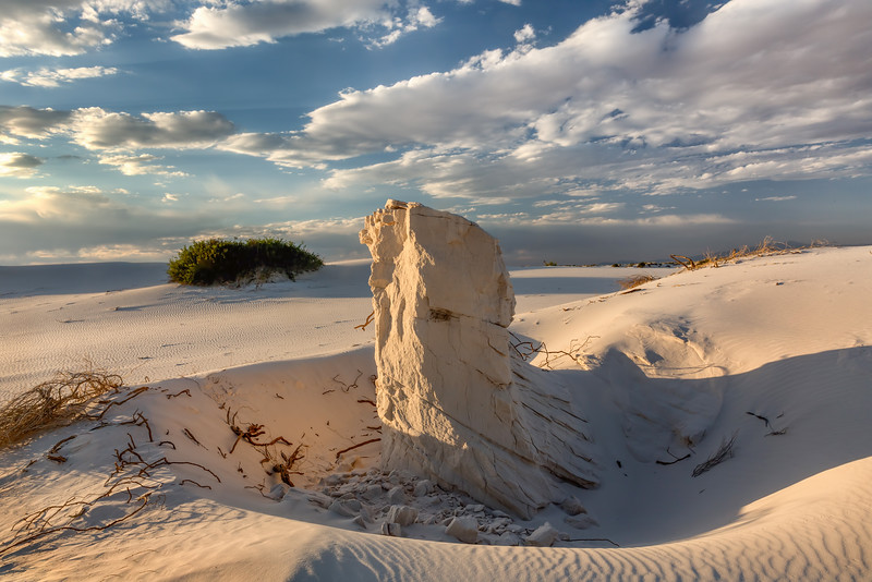 Wind Sculpted Sand Formation
