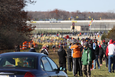 2 Mile Mark, D2 Girls - 2014 MHSAA LP XC Finals