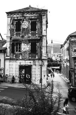 Destroyed Mostar