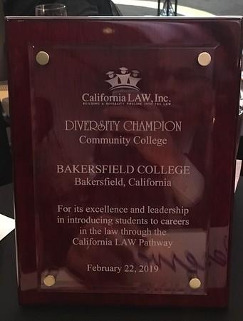 2019: Cal Law Diversity Award