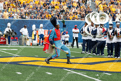 Delaware State Marching Band at WVU - September 17, 2017