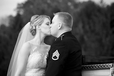 Katie & Joe's Wedding - Black & White