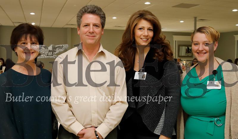 Cheryl Rensel, Bill Kepple, Tricia Kradel, Stephanie Farneth with Sunnyview Nursing Center.