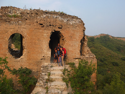 winding dradon great wall camping sept