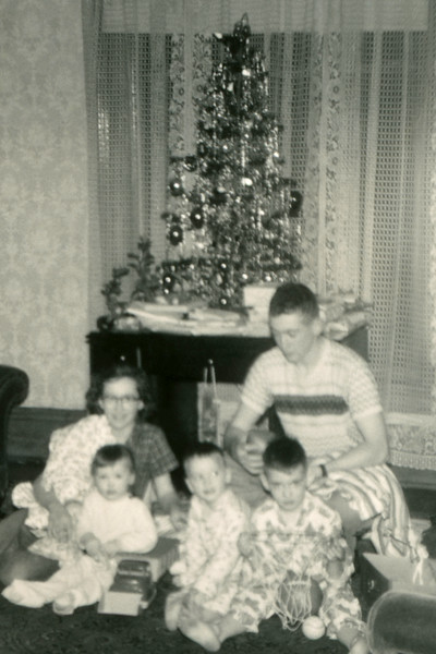 Christmas photo enlarged