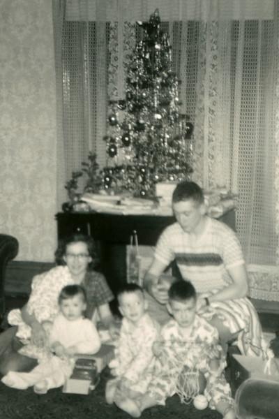 Christmas photo enlarged