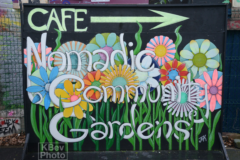 Nomadic Community Gardens, Shoreditch, London (Jan 17)