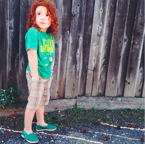 . Ryan Cruz Saldana, 3, was killed after he ran into the street while playing frisbee at his cousins� house in Alta Loma Friday evening. Since the incident, the hashtag #redballoonsforryan has been trending on social media. (Photo courtesy of Alissa Circle)