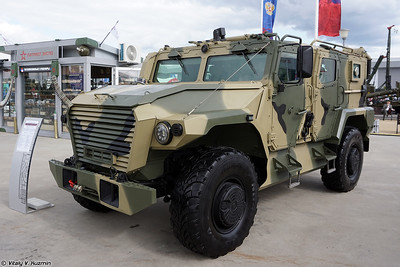 Military-technical forum ARMY-2021 - Static displays part 2: Trucks, armoured and tactical vehicles