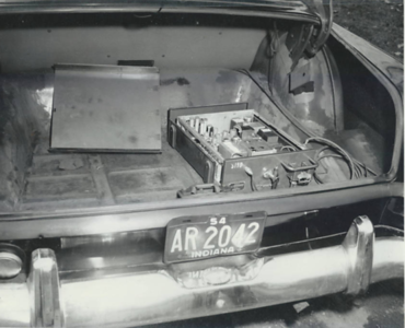 IPD Police Car with radio in trunk