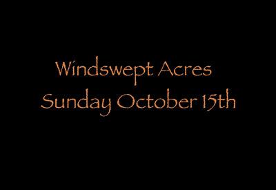 EPN Catskills Sunday, Windswept Acres.