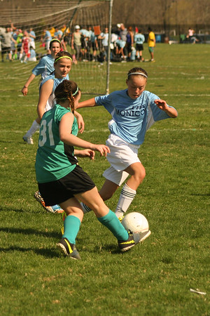 Montco Select Revolution at Bloomsburg Trappers SC Teal Wave 4-18-2015
