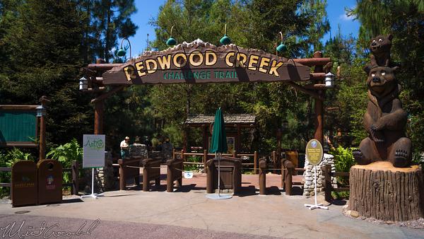 Disneyland Resort, Disney California Adventure, Grizzly, Peak, Redwood, Creek, Challenge, Trail