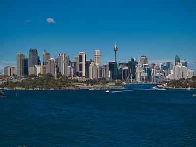 20140624 Sydney City Skyline