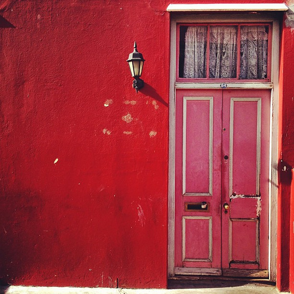 Favorite doorway candidate #19 - Cape Malay red, Bo-kaap, Cape Town #SouthAfrica