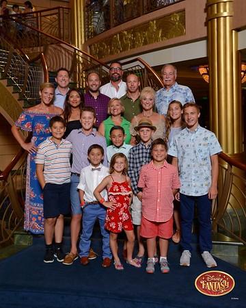 Disney Cruise- Bob's 70!