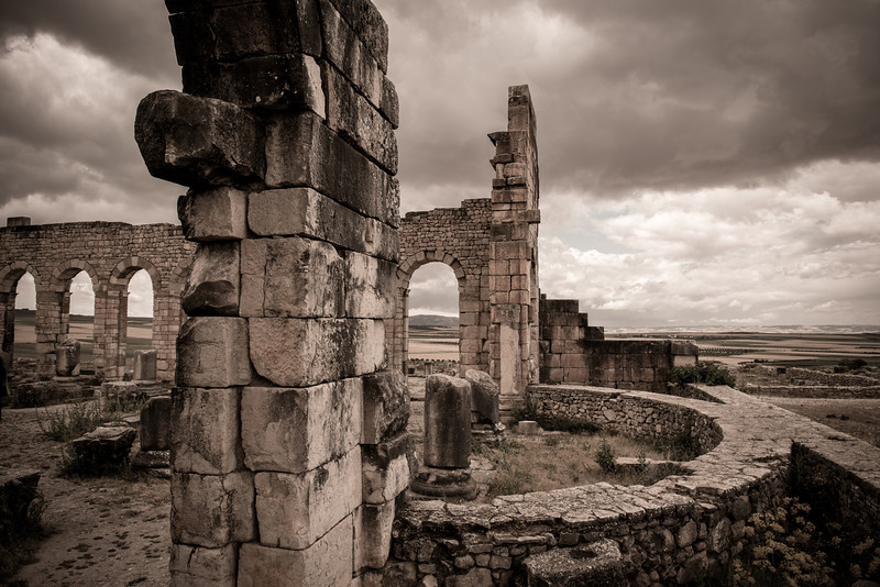 The ancient Roman City of Volubilis