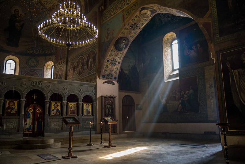 Shiomghvime Monastery near Mtskheta, Georgia.
