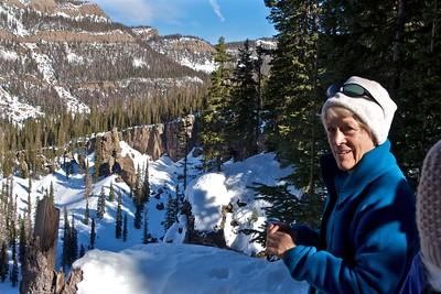 Hoodoos Snowshoe Jan 2012