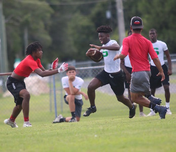 7-on-7 football SHS, LHS, HCHS, Madison County
