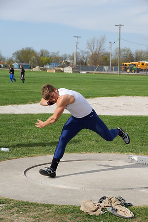 LB Track @ Oregon Clay - throwers (2018-05-04)