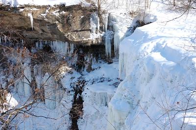 Brandy Wine Falls Winter