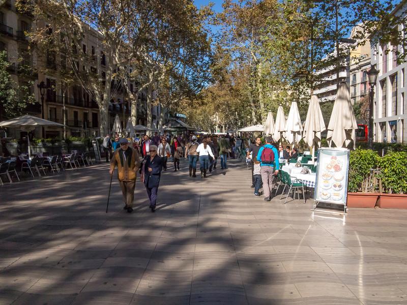 Barcelona, La Rambla.