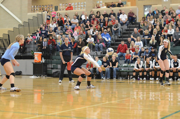 Varsity Volleyball vs Waverly-Districts