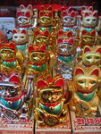 Waving cats bring money in to your business
