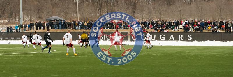 Saint Louis FC at SIUE, exhibtion