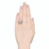 1.75ctw Edwardian Toi et Moi Old European Cut Diamond Ring  2