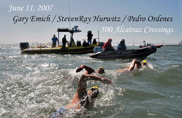Alcatraz 500 Swim June 11, 2007