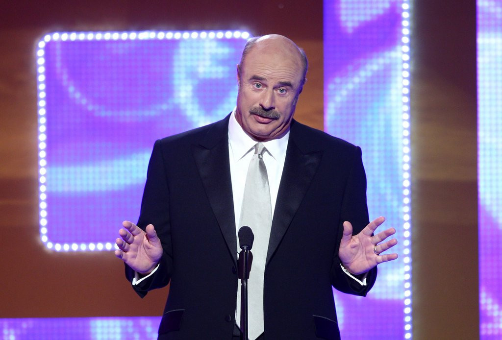 ". <p>3. (tie) DR. PHIL <p>After Twitter smackdown, postponing all of his plans to have sex with drunk girls. (4) <p><b><a href=\'http://www.foxnews.com/entertainment/2013/08/21/dr-phil-tweets-then-deletes-message-about-sex-with-drunk-women/\' target=""_blank\""> HUH?</a></b> <p>    (Alberto E. Rodriguez/Getty Images)"