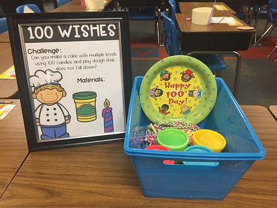 100th Day of School STREAM