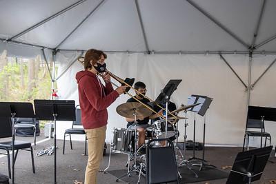 18 April Outdoor Rehearsals Jazz