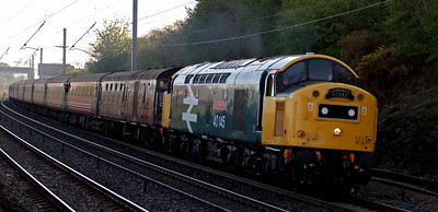 British diesel and electric special trains, 2005 -