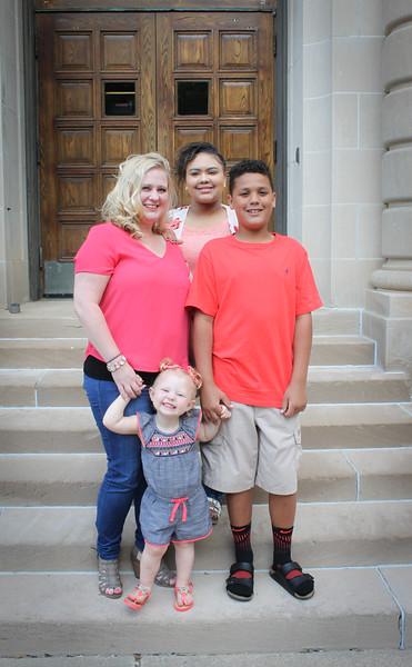 Jenny Davis & Family