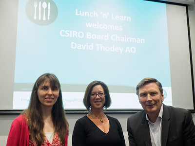 Lunch 'n' Learn with David Thodey