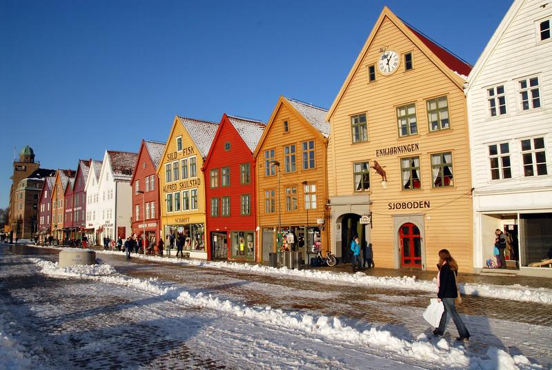 Vinter i Bergen..