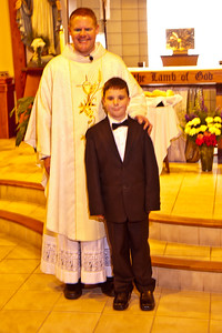 ZACHARY HALE 1st COMMUNION and HALE FAMILY 5-3-2015