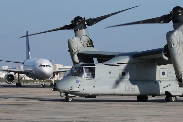 "US Marine Corps MV-22B ""Osprey"", Manama, 29Nov18"